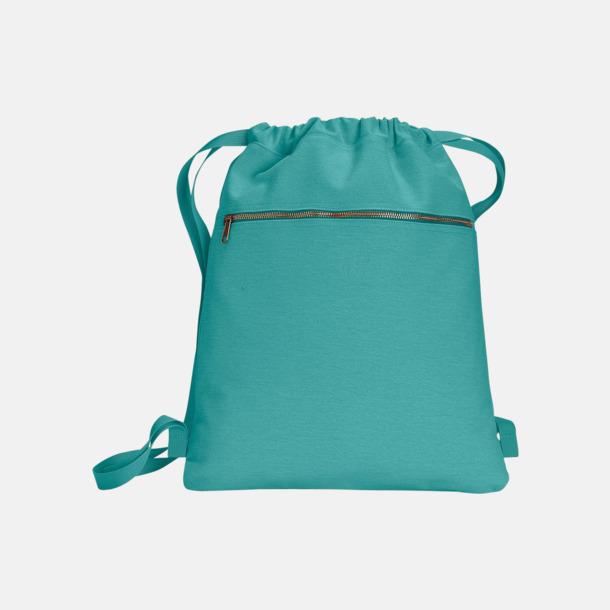 Seafoam Trendiga ryggsäckar med reklamtryck
