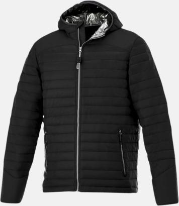 Svart (herr) Kvalitetsjackor för herr & dam - med reklamtryck