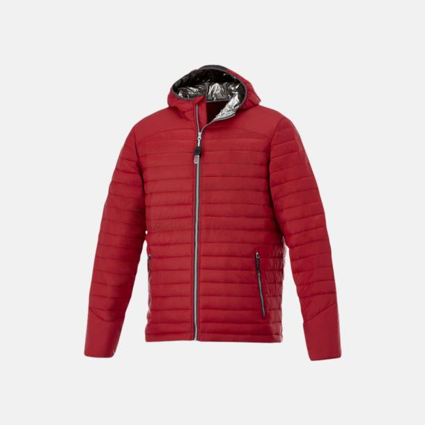 Röd (herr) Kvalitetsjackor för herr & dam - med reklamtryck