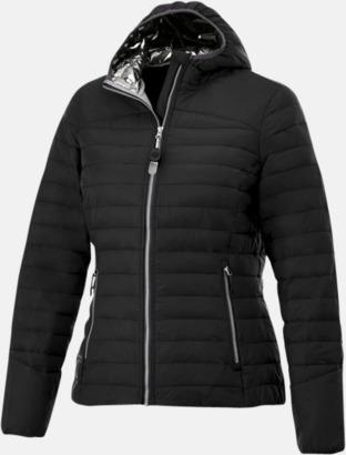 Svart (dam) Kvalitetsjackor för herr & dam - med reklamtryck