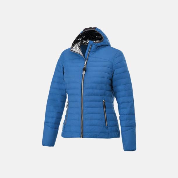 Blå (dam) Kvalitetsjackor för herr & dam - med reklamtryck