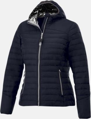 Marinblå (dam) Kvalitetsjackor för herr & dam - med reklamtryck