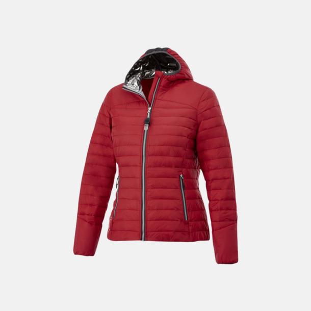 Röd (dam) Kvalitetsjackor för herr & dam - med reklamtryck