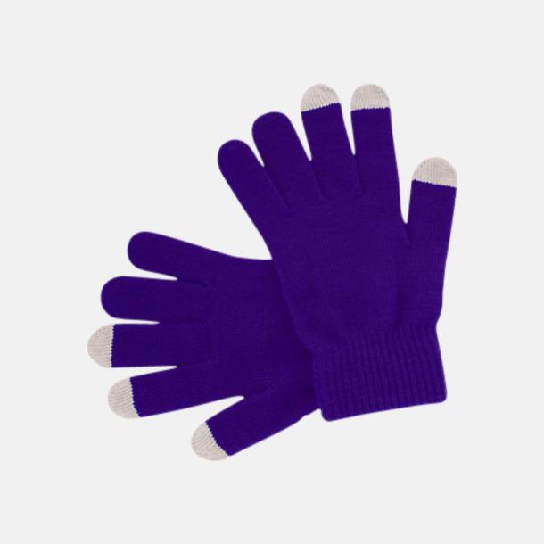 Marinblå (PMS 072) Vantar för touchscreens