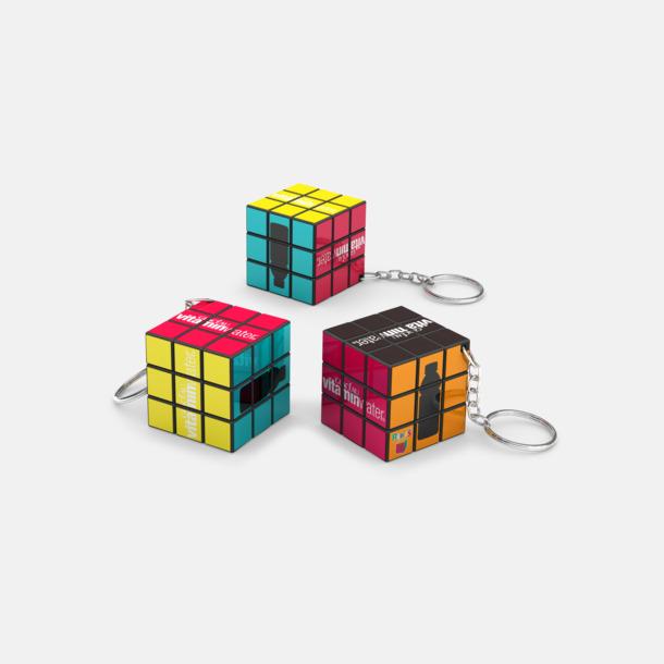 Orginal Rubiks Kub Nyckelring med eget tryck