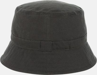 Vaxad bucket-hat med egen logga