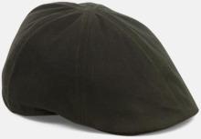 Flat cap med reklamtryck