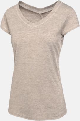 Rock Grey Regatta tränings t-shirts med reklamtryck