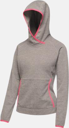 Rock Grey Träningströjor i fleece med reklamtryck