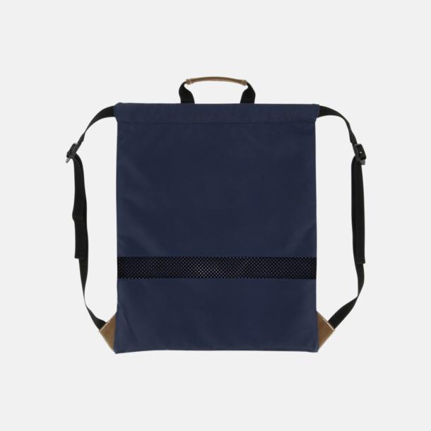 Dragskoförsedda ryggsäckar med reklamtryck