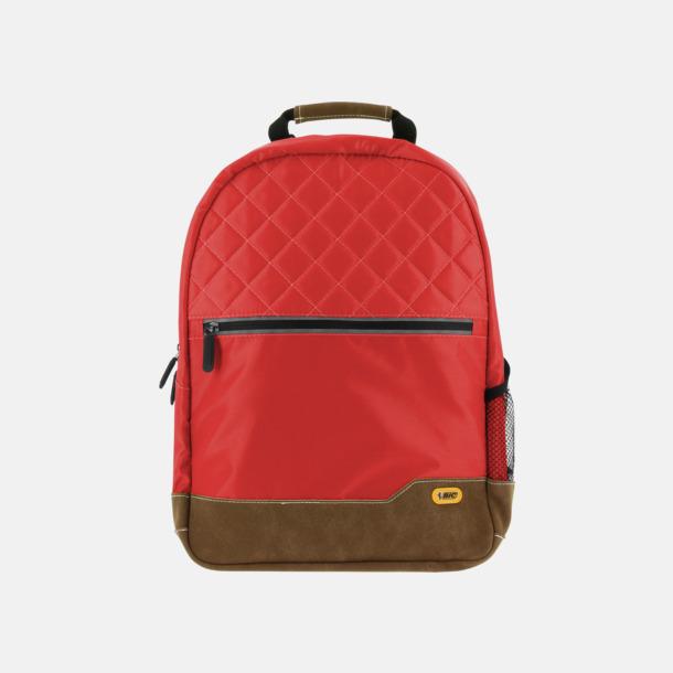 Röd Ryggsäckar från Bic med reklamtryck