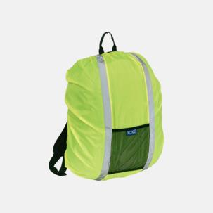 Synliga överdrag för ryggsäckar - med reklamtryck
