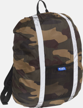 Camouflage Synliga överdrag för ryggsäckar - med reklamtryck