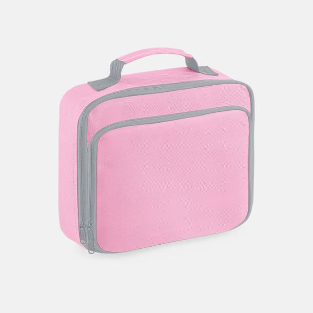 Classic Pink Liten lunchkylväska med reklamtryck
