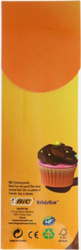 Digitaltryck Miljö färgpennor i förpackning med reklamtryck