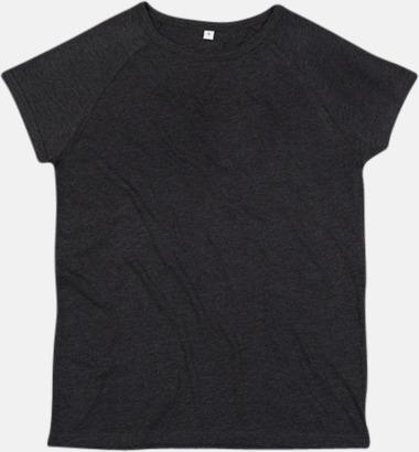Charcoal Grey Melange Unisex eko t-shirts med reklamtryck