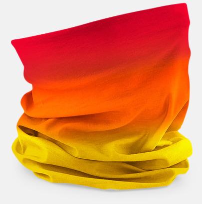 Sunset Reds Färgskiftande halskragar med reklamtryck
