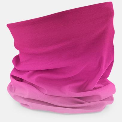 Candy Floss Pinks Färgskiftande halskragar med reklamtryck