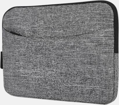 Grey Melange Fodral för surfplatta - med reklamtryck