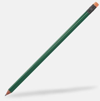 Orange Miljövänliga blyertspennor med reklamtryck