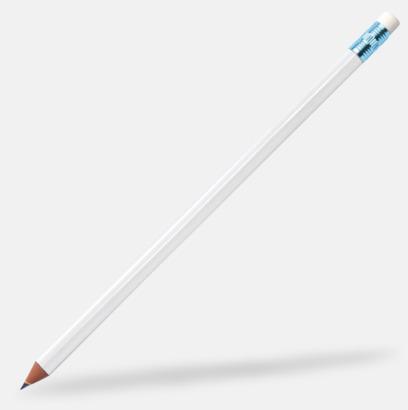 Metallic Blue Miljövänliga blyertspennor med reklamtryck