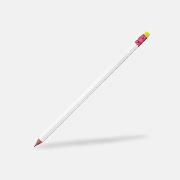 Pink Metallic Miljövänliga blyertspennor med reklamtryck