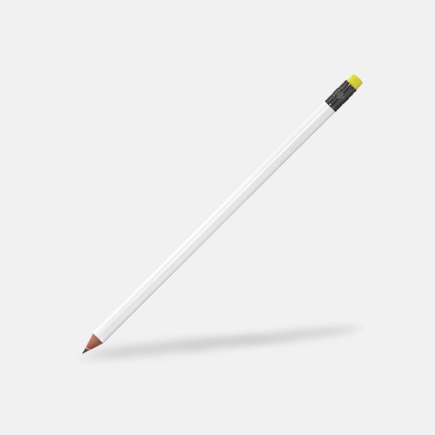 Gul Miljövänliga blyertspennor med reklamtryck