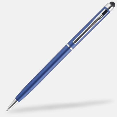 Blå Styluspennor i metall från Bic med reklamtryck