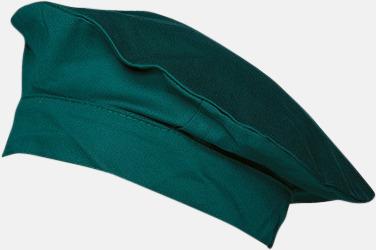 Grön Baskermössor med reklamtryck