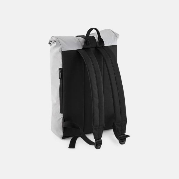Reflekterande roll-top ryggsäckar med reklamtryck