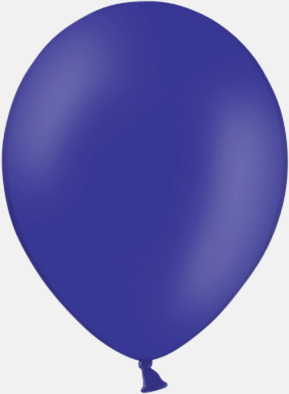 Night Blue (PMS Reflex Blue) Ballonger med tryck