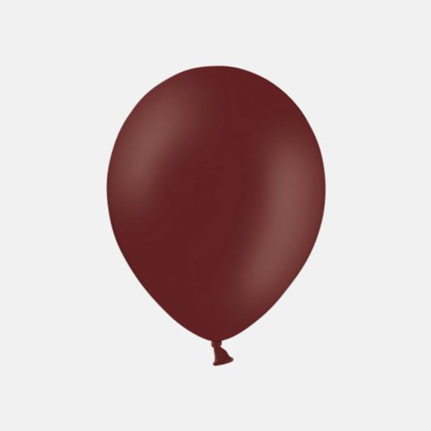 Prune (PMS 195) Ballonger med tryck