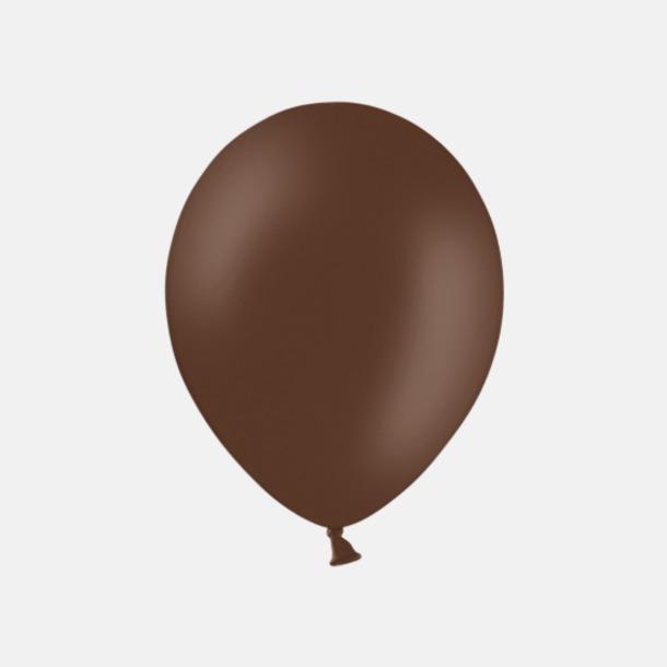 Cacoa Brown (PMS 4705) Ballonger med tryck