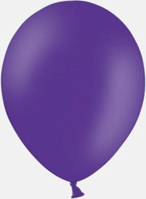 Royal Lilac (PMS 2607) Ballonger med tryck