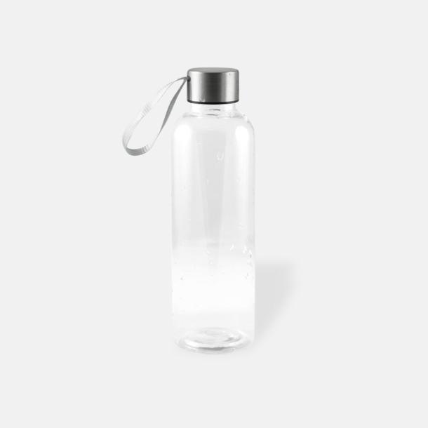 Transparent/Glasklar Remförsedda vattenflaskor med reklamtryck