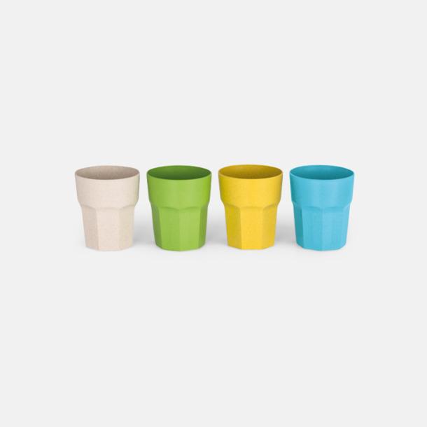 Miljövänliga glas med reklamtryck