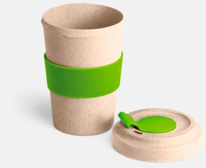 Take away-muggar i ekobambu & silikon - med reklamtryck