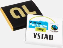 Ekologisk fairtradechoklad med eget tryck