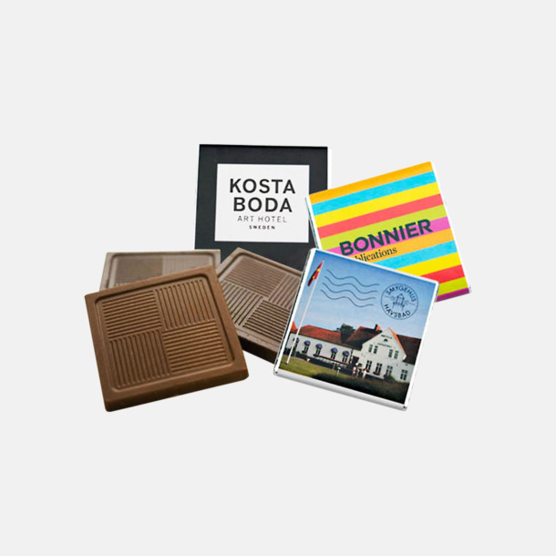 Chokladbitar Premium 5 gram - Med tryck