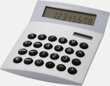 Räknare med vinklad display med reklamtryck