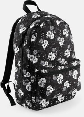 Mono Hawaiian Mönstrade ryggsäckar med reklamtryck