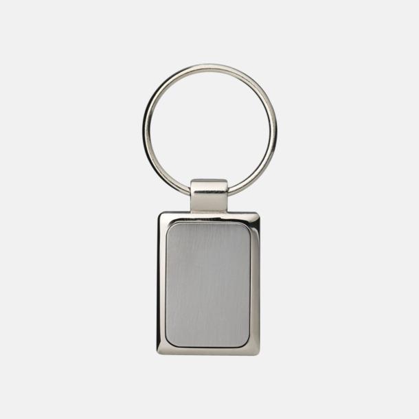 Fyrkantiga nyckelringar med eget reklamtryck