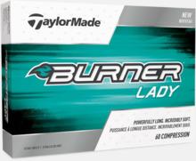 Nya för 2018 golfbollar från TaylorMade med reklamtryck