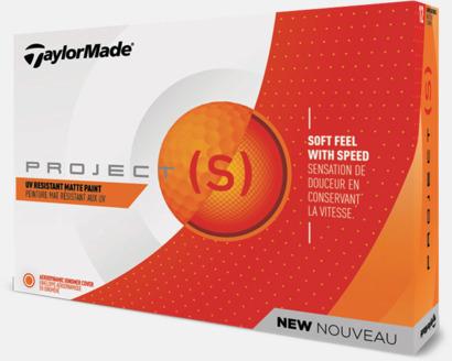 2018 nya TaylorMade golfbollar med reklamtryck