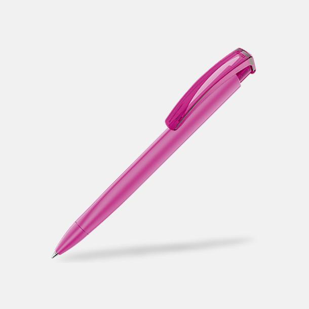 Magenta (plastspets) Trekantiga mjuka pennor med reklamtryck