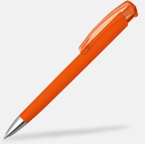 Orange (metallspets) Trekantiga mjuka pennor med reklamtryck