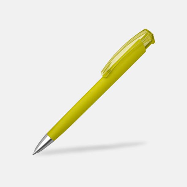 Gul (metallspets) Trekantiga mjuka pennor med reklamtryck