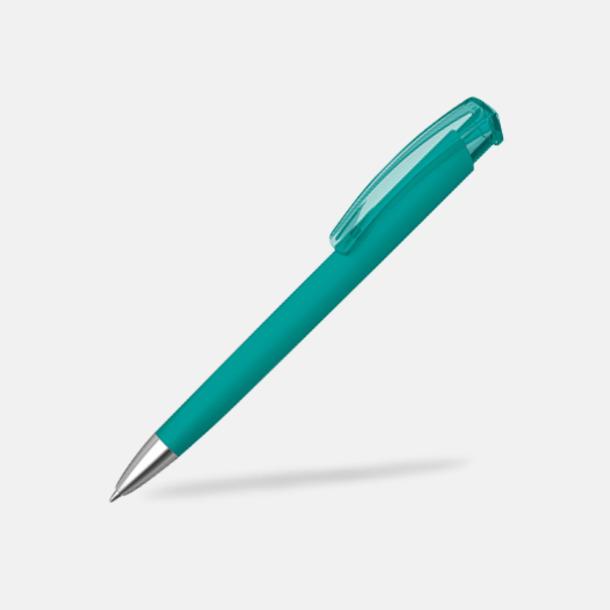 Petrol (metallspets) Trekantiga mjuka pennor med reklamtryck