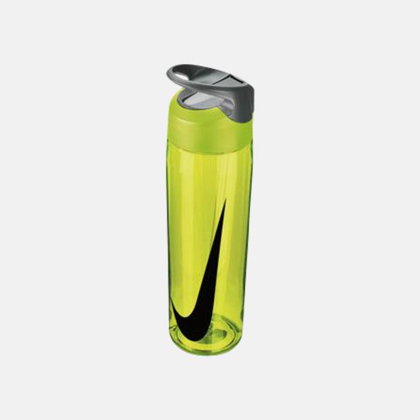 Volt/Cool Grey/Svart (710 ml) Vattenflaskor från Nike i 2 storlekar med reklamtryck