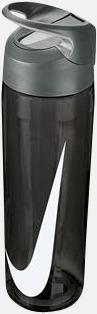 Anthracite/Cool Grey/Vit (710 ml) Vattenflaskor från Nike i 2 storlekar med reklamtryck